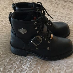 Authentic Harley Davidson Motorcyle boots